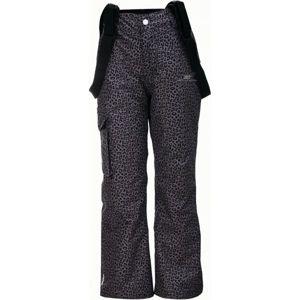 2117 TÄLLBERG tmavě šedá 128 - Dětské lyžařské kalhoty