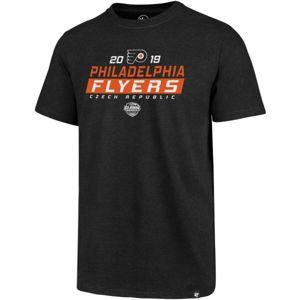 47 Philadelphia Flyers '47 CLUB TEE černá XL - Pánské triko