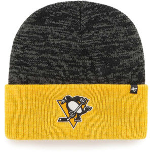 47 NHL PITTSBURGH PENGUINS TWO TONE BRAIN FREEZE '47 CUFF KNIT  UNI - Zimní čepice