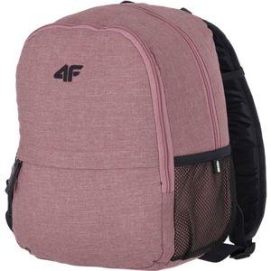 4F BACKPACK růžová NS - Městský batoh