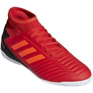 adidas PREDATOR TANGO 19.3 IN J červená 4.5 - Dětské sálovky