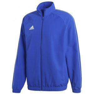 adidas CORE18 PRE JKT modrá 2xl - Sportovní pánská bunda