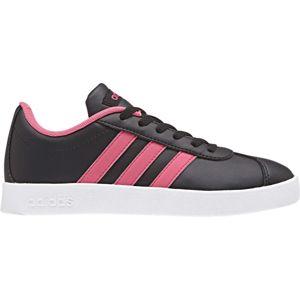 adidas VL COURT 2.0 K růžová 30 - Dětská obuv