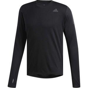 adidas OWN THE RUN LS černá L - Pánské běžecké triko