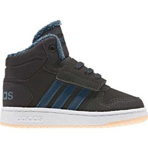 adidas HOOPS MID 2.0 I černá 23 - Dětská volnočasová obuv