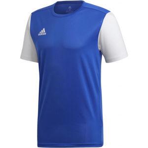 adidas ESTRO 19 JSY JNR modrá 140 - Dětský fotbalový dres