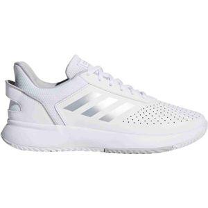 adidas COURTSMASH W bílá 5.5 - Dámská tenisová obuv