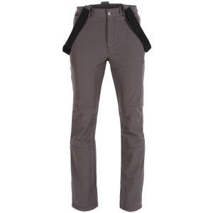 ALPINE PRO AMID šedá XL - Pánské kalhoty