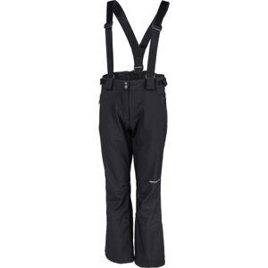 ALPINE PRO ARGA černá S - Dámské lyžařské kalhoty