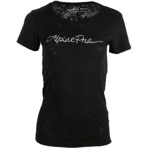 ALPINE PRO BELENA černá XS - Dámské triko
