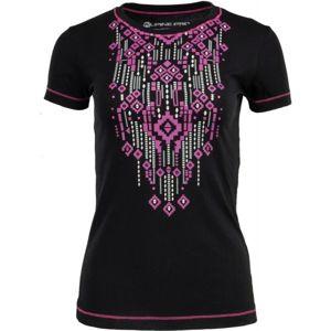 ALPINE PRO CHATHAMA 2 černá XS - Dámské triko