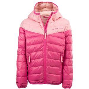 ALPINE PRO OBOKO 2 růžová 164-170 - Dětská bunda