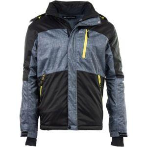 ALPINE PRO PERIDOT 3 černá XXL - Pánská lyžařská bunda