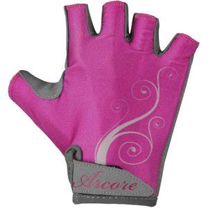 Arcore NINA růžová S - Dámské cyklistické rukavice