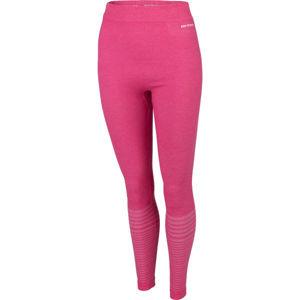 Arcore PSARA růžová XL - Dámské bezešvé termokalhoty