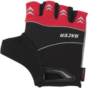 Arcore RACER červená S - Cyklistické rukavice