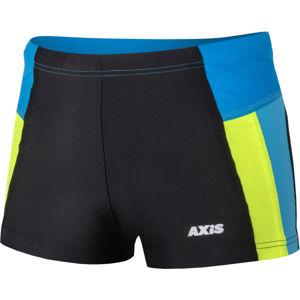 Axis NOHAVIČKOVÉ CHLAPECKÉ PLAVKY černá 140 - Chlapecké nohavičkové plavky