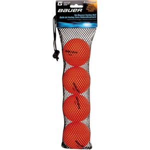 Bauer HOCKEY BALL WARM 4 PK oranžová NS - Hokejové míčky