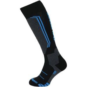 Blizzard ALLROUND WOOL SKI SOCKS modrá 35 - 38 - Lyžařské ponožky