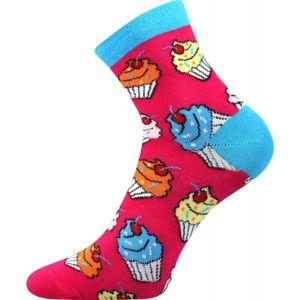 Boma PATTE 019 CUPCAKE růžová 39-42 - Dámské ponožky