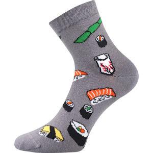 Boma PATTE 040 šedá 35 - 38 - Vysoké ponožky