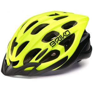 Briko QUARTER žlutá (54 - 58) - Cyklistická přilba