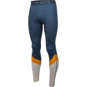 Bula RETRO WOOL PANTS tmavě modrá L - Pánské kalhoty
