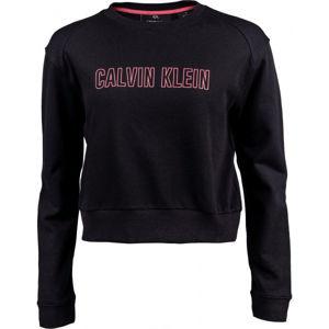 Calvin Klein PULLOVER černá XS - Dámská mikina