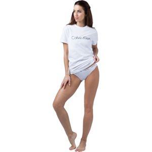 Calvin Klein S/S CREW NECK bílá XS - Dámské tričko