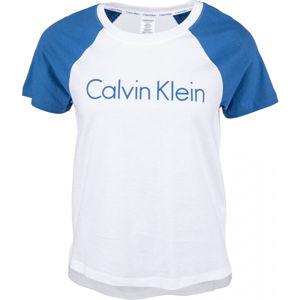Calvin Klein S/S CREW NECK bílá L - Dámské tričko