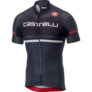Castelli FREE AR 4.1 černá M - Pánský cyklistický dres