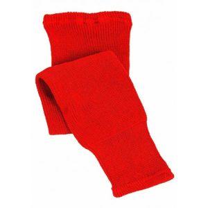 CCM 100 KNIT SOCK IN 24 červená NS - Dětské hokejové pletené stulpny