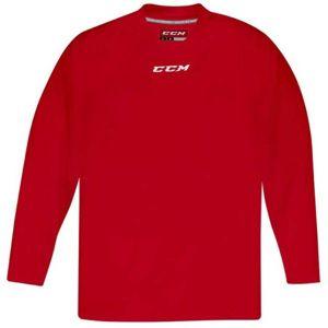 CCM 5000 PRACTICE SR červená M - Hokejový dres
