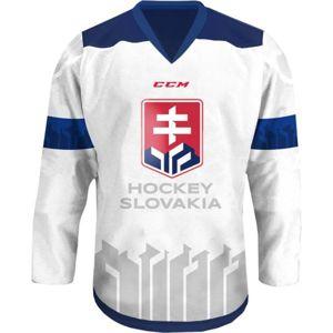 CCM FANDRES HOCKEY SLOVAKIA bílá XXXS - Dětský hokejový dres