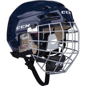 CCM TACKS 110 COMBO SR modrá (57 - 62) - Hokejová helma