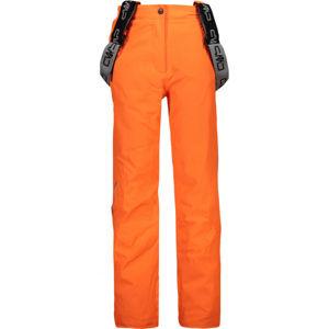 CMP KID GIRL SALOPETTE  152 - Dívčí lyžařské kalhoty
