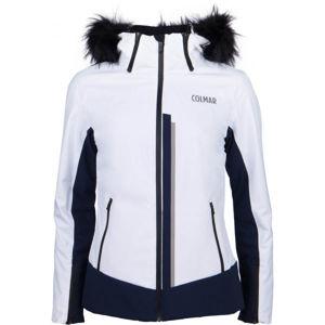 Colmar L.SKI JACKET+FUR bílá 36 - Dámská lyžařská bunda