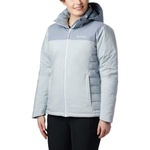 Columbia Snow Dream Jacket šedá L - Dámská zimní bunda