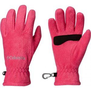 Columbia YOUTH THERMARATOR GLOVE růžová S - Dětské rukavice