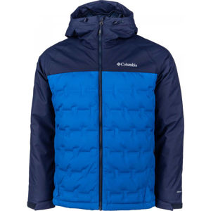 Columbia M GRAND TREK DOWN JACKET modrá XL - Pánská bunda