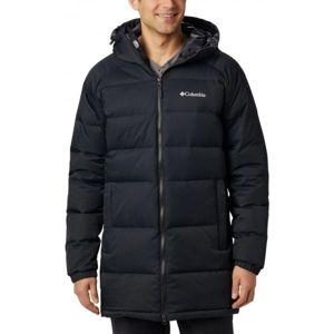 Columbia MACLEAY DOWN LONG JACKET černá L - Pánská zimní bunda