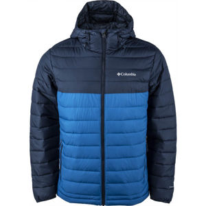 Columbia POWDER LITE HOODED JACKET  S - Pánská bunda