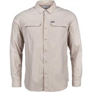 Columbia SILVER RIDGE 2.0 LONG SLEEVE SHIRT béžová L - Pánská košile