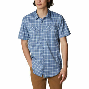 Columbia SILVER RIDGE LITE PLAID SHORT SLEEVE  M - Pánská košile