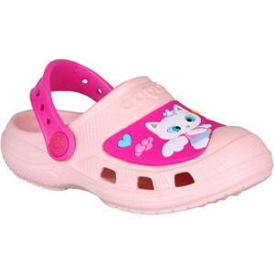 Coqui CROAKY červená 24/25 - Dětské sandály
