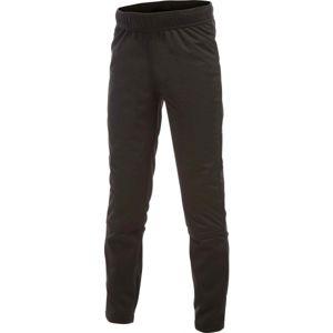 Craft WARM TIGHTS černá 134-140 - Dětské zateplené elastické kalhoty