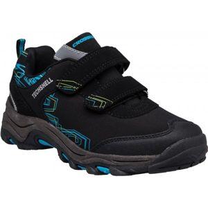 Crossroad TOBI černá 25 - Dětská treková obuv