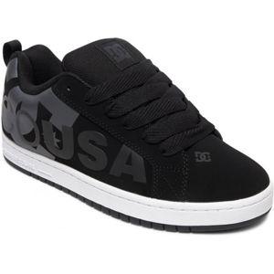 DC COURT GRAFFIK SE černá 10.5 - Pánská volnočasová obuv