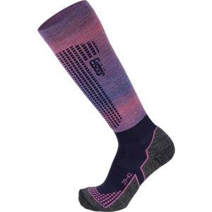Eisbär SKI W TECH LIGHT DX + SX růžová 35 - 38 - Dámské lyžařské ponožky