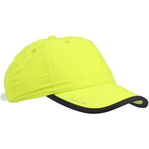 Finmark LETNÍ DĚTSKÁ ČEPICE žlutá UNI - Letní dětská sportovní čepice